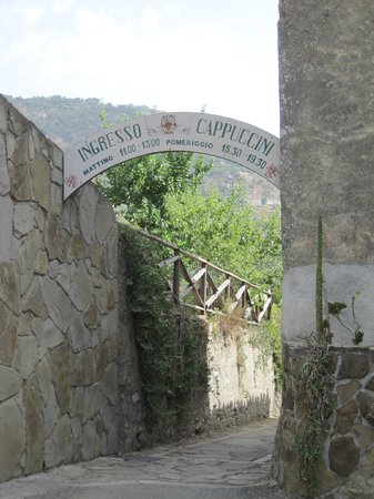 Francavilla di Sicilia, Italia: Opens 11am Cost 2.50 Euro Ask for access to the garden/herbarium?