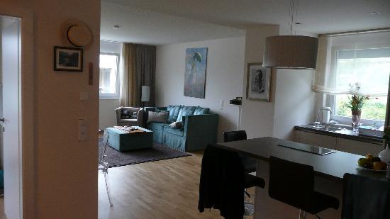 Apart Hotel Legendaer: Wohnzimmer