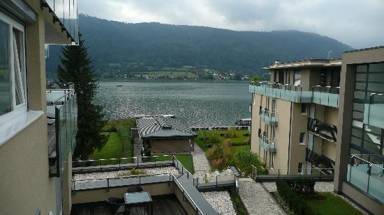 Apart Hotel Legendaer : Blick vom Balkon