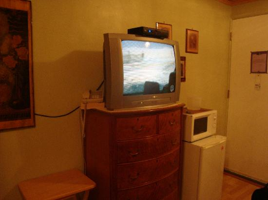Buona Sera Inn: tv fridge