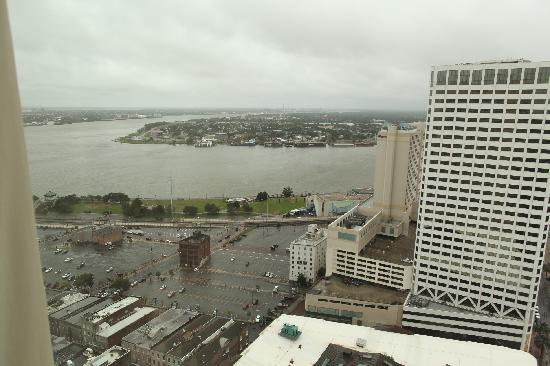 New Orleans Marriott: View of the Mississippi River
