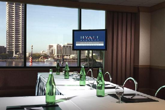 Hyatt Regency Jacksonville Riverfront: Great place for a meeting.