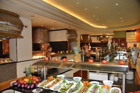 Iberostar Grand Hotel Bavaro: En el bufet