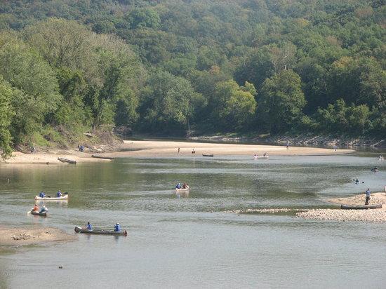 Seven Oaks Recreation: In the summer season Seven Oaks operates as a canoe, kayak, and river tube outfitter.