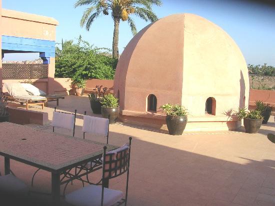 Villa Dar Zina: La terrasse