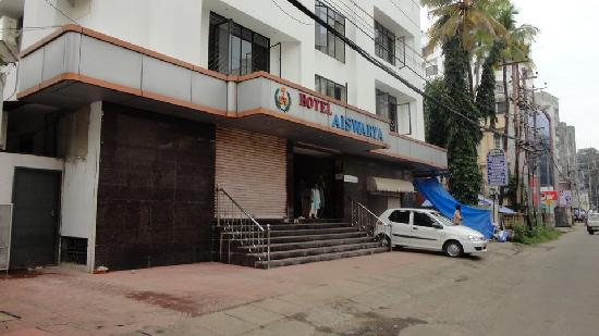 Aiswarya Hotel : Hotel Front view