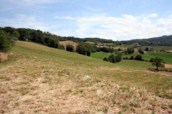 Agriturismo Corte del Gallo: veduta del Bagnolo a Rivergaro