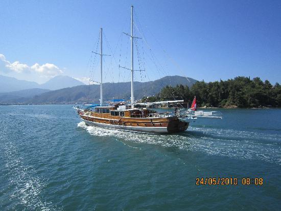 Club Tuana Fethiye: Gulet on the Boat Trip