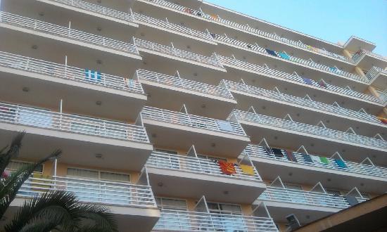Hotel Pinero Tal visto da entrada