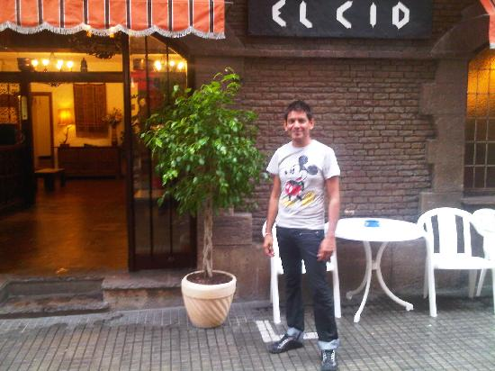 Hotel El Cid: The Hotel Entrance