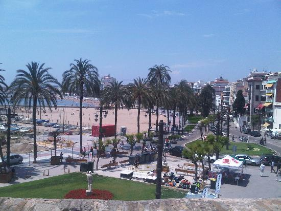 Hotel El Cid: View of Sitges from the Church