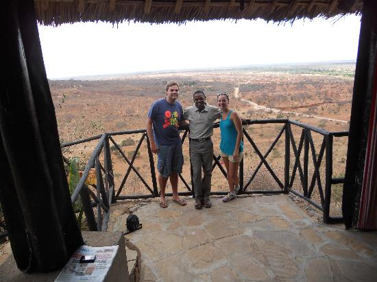 African Memorable Safaris: Bonny our guide/driver and us