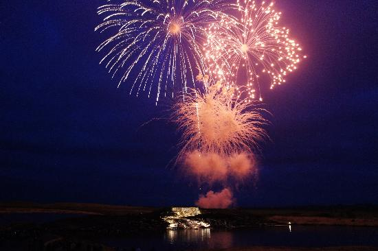 Grand Falls Casino and Golf Resort: Grand opening fireworks