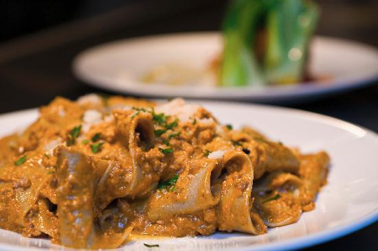 Big Pickle FoodBar: Pappardelle Bolognese