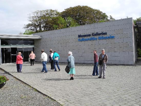National Museum of Ireland - Country Life: Outside the entrance