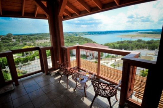 Vintage Villas Hotel: View of Lake Travis