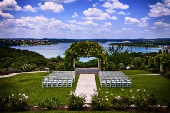 Vintage Villas Hotel: Wedding View