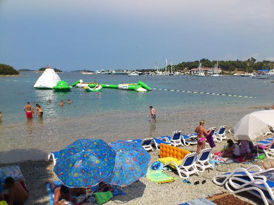 Hotel Pineta: Fun at the sea