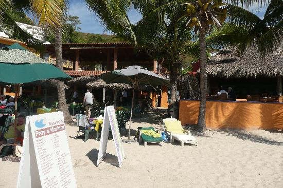 Playa la Ropa: Paty's - our favorite restaurant