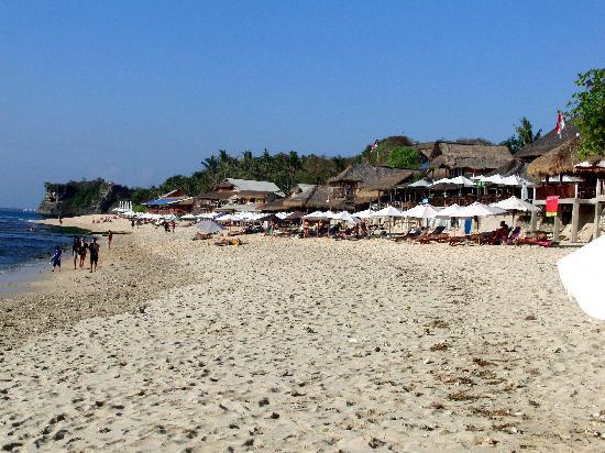 Balangan Sea View Bungalow: balangan beach