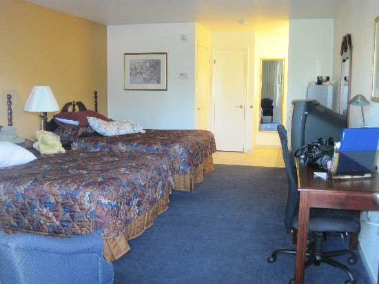Sandman Hotel: Our spacious room