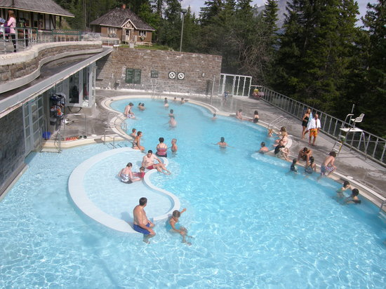 Banff Upper Hot Springs : Very Relaxing!