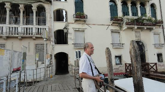 Hotel Ala - Historical Places of Italy: The vaporetto stop near the Hotel