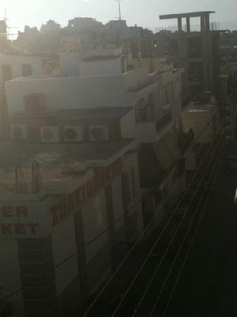 Sunbeam Studios & Apartments: foto dal balcone