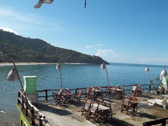 Lanta Marine Park View Resort : view from my breakfast table
