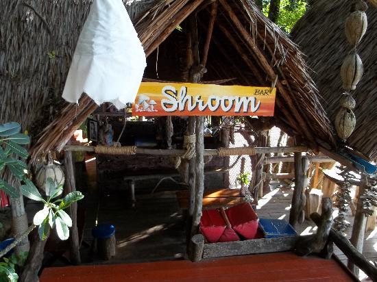Lanta Marine Park View Resort: 'shroom bar