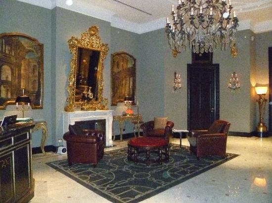 The St. Regis Florence: One of several cozy lobby areas
