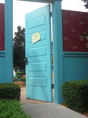 Disney's All-Star Movies Resort: The entrance to Toy Story
