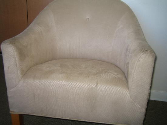 Ala Moana Hotel: One of Two Badly Stained Chairs in the $300+ per night Suite
