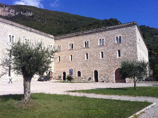 Sermoneta, Italien: Parte del complesso abbaziale