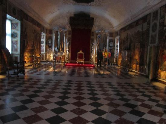 ปราสาทโรเซนเบิร์ก: Interior