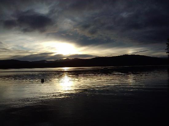 Newfound Lake: Sunset!