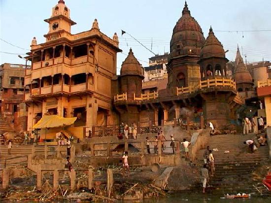 The Gateway Hotel Ganges Varanasi: Ghat on Ganges