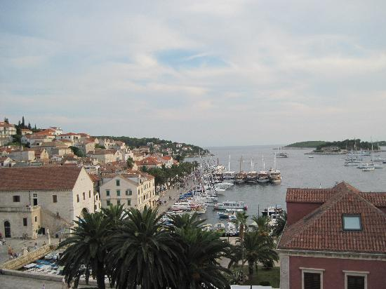 Hotel Park Hvar: View from our room