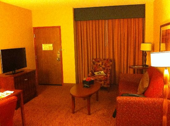 Embassy Suites by Hilton Dallas Frisco Hotel Convention Center & Spa: Suite area