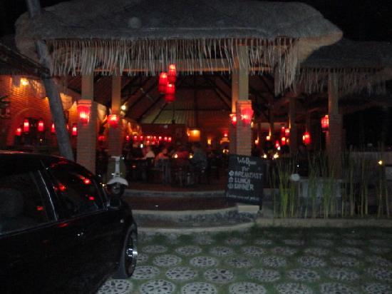 Pacha Bar and Restaurant: The restaurant