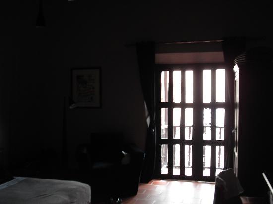 La Casa del Farol Hotel Boutique : view from the front door.