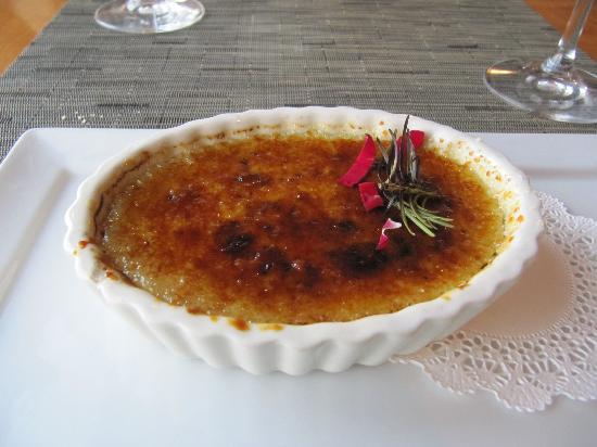Friday Harbor House Restaurant: Creme Brulee