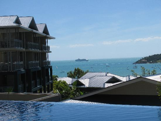 Peppers Airlie Beach: View from pool deck