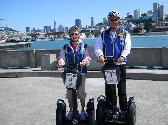 Electric Tour Company Segway Tours: Our San Francisco Segway tour