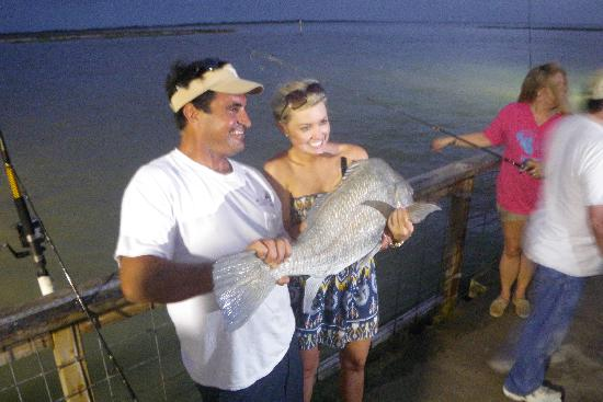 Port Lavaca, Teksas: A 40# Black Drum