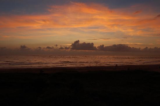 The Saint Augustine Beach House: Sunrise from our 3rd floor room