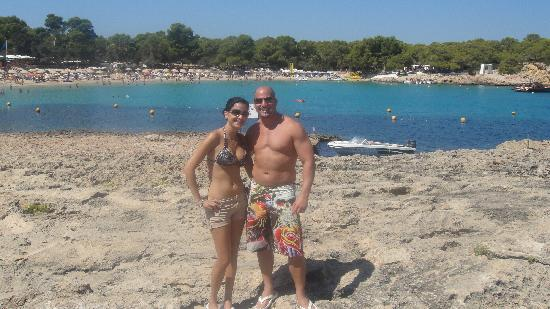 Playa de Cala Bassa: the beach