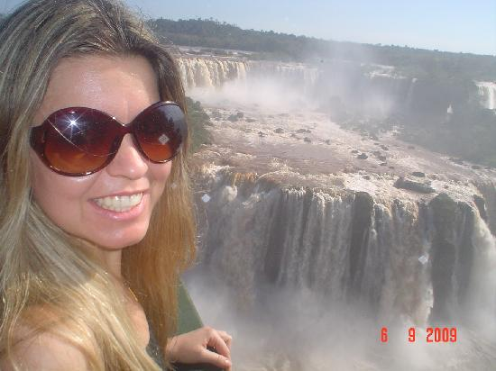 Foz do Iguacu, PR: Watchin the seven falls from very near