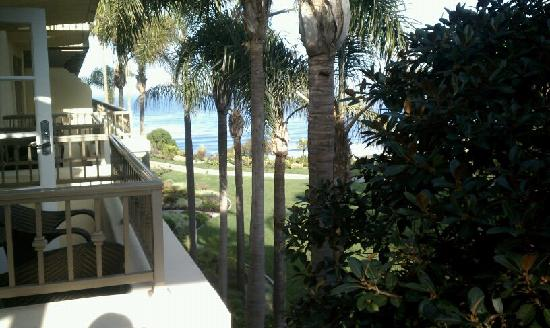 The Ritz-Carlton, Laguna Niguel: View from our room.