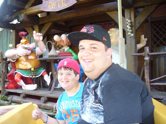 Parc Asterix: Boat ride